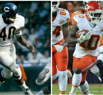 Chiefs WR Tyreek Hill turned an NFL hat trick last accomplished by Gale Sayers in 1965