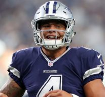 Watch Dak Prescott's priceless reaction to Jerry Jones calling him 'the daddy'