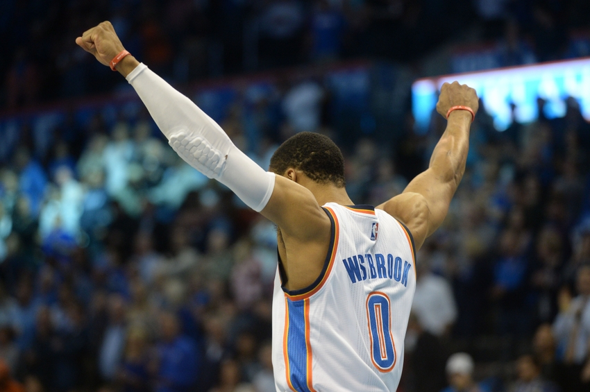 info for af0b7 c1be4 Russell Westbrook ties Michael Jordan with 7 consecutive triple-doubles