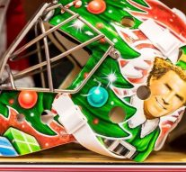 Red Wings goalie's Christmas-themed mask features Will Ferrell's character from 'Elf'