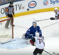 The Coyotes and Leafs couldn't stop hitting the post in overtime