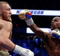 WATCH: Highlights of Floyd Mayweather's 10th round TKO of Conor McGregor