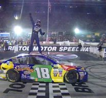 Kyle Busch wins to complete the trifecta | 2017 BRISTOL