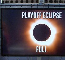 A bubble driver's view of the NASCAR playoffs through the eclipse