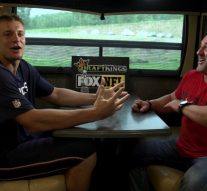 Rob Gronkowski shares update on his return from back injury in one-on-one with Jay Glazer