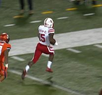 Nebraska takes the lead with a 45-yd touchdown pass