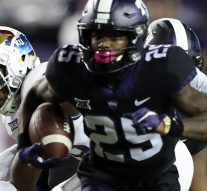 KaVontae Turpin turns on the jets and returns Cole Moos punt 90 yards for a TD, Horned Frogs up 43-0
