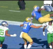UCLA RB's hurdle of this Oregon defender has to be seen to be believed