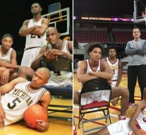 Iowa State basketball recruits recreate Fab Five's iconic pictures