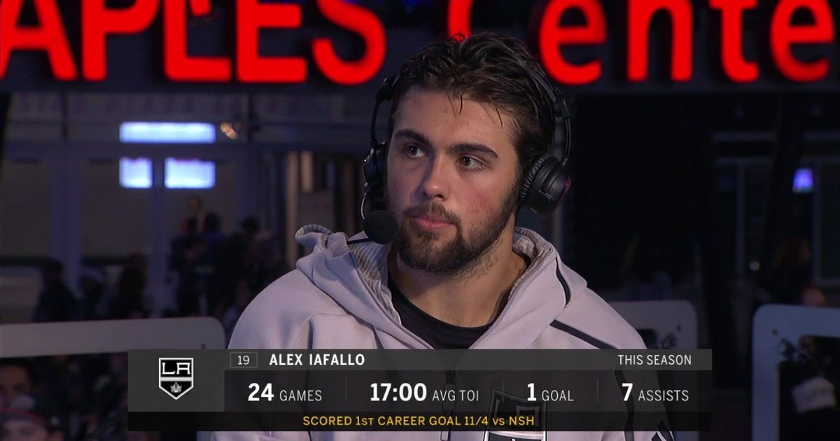 LA Kings Live: Alex Iafallo joins after the win | Physical ...