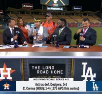 Carlos Correa tells the MLB on FOX crew how he managed to win a World Series and plan an engagement