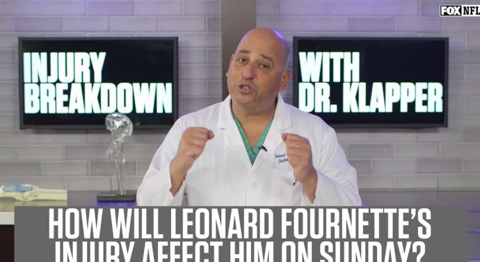 Dr. Klapper explains how Leonard Fournette's injury will impact his play on Sunday
