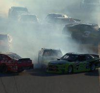 The 'big one' unfolds on penultimate lap in Daytona | 2018 NASCAR XFINITY SERIES