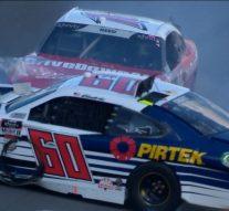 Austin Cindric crashes out early at Daytona | 2018 NASCAR XFINITY SERIES