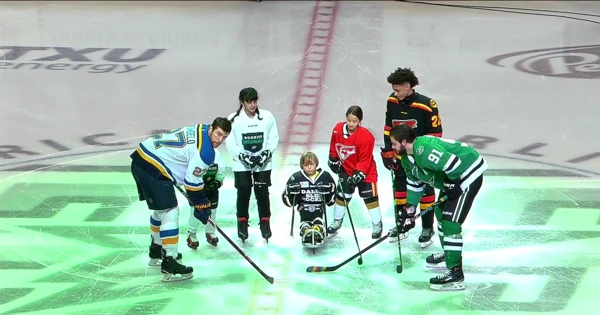 Hockey is for Everyone Ceremonial Puck Drop | Physical ...