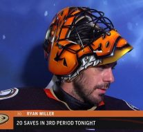 Ducks Live: Ryan Miller had 20 saves in the 3rd period in win over Golden Knights
