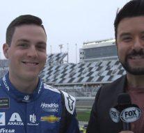 Pole sitter Alex Bowman all smiles before Daytona 500