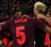 Messi nets big away goal for Barcelona vs. Chelsea   2017-18 UEFA Champions League Highlights