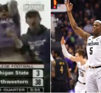 Michigan State's 27-point road comeback to beat Northwestern isn't even the biggest road comeback Michigan State's put on Northwestern sports in the last 12 years, incredibly