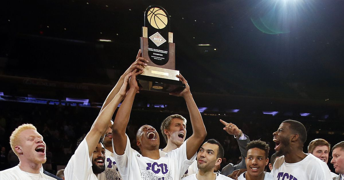 So your team just won the NIT. Does that mean you'll make the NCAA Tournament next season ...