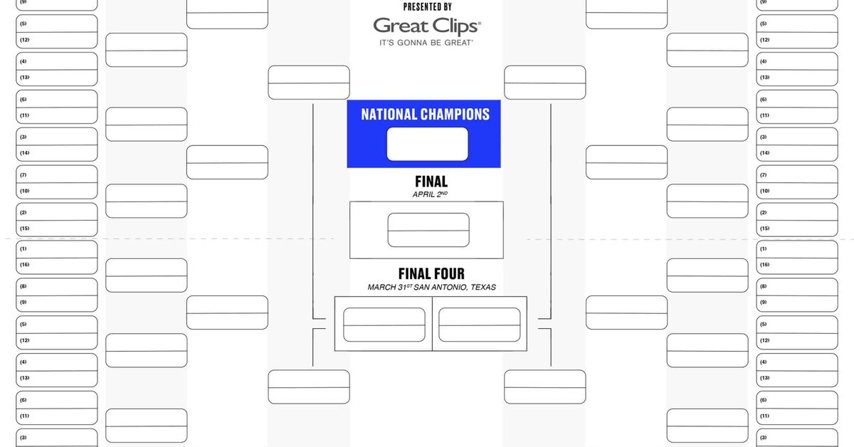 printable bracket 2018  get your blank version here